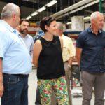 Visite de Aurélie Maillols à l'AFLPH de Couffinet.