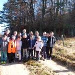 Sortie en forêt pour l'école de Ste colombe
