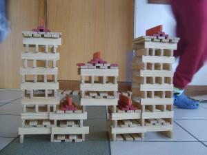 construction réalisée par les élèves de Ste Colombe
